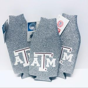 Texas A&M Kolder NCAA Glitter Bottle Coolie Set